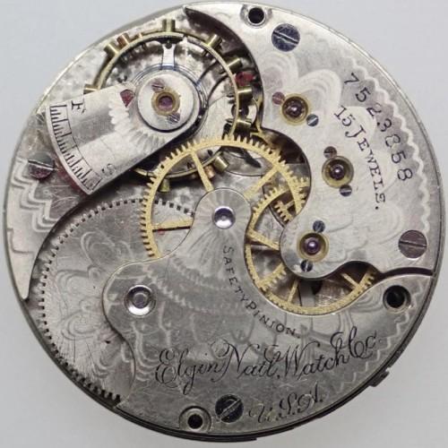 Elgin Grade 133 Pocket Watch Image