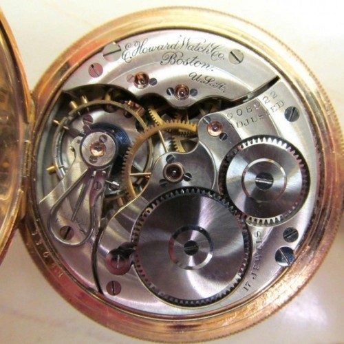 Image of E. Howard Watch Co. (Keystone) Series 3 #908922 Movement
