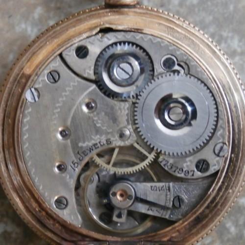 Omega Watch Co. Grade A Pocket Watch Image