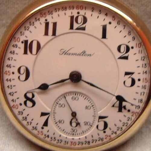 Image of Hamilton 992 #1540287 Dial