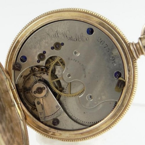 Elgin Grade 45 Pocket Watch Image