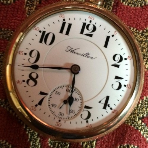 Hamilton Grade 940 Pocket Watch Image