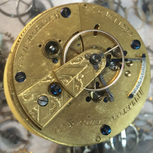 Waltham Grade Sporting Pocket Watch Image