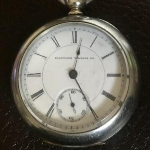 Illinois Grade 6 Pocket Watch Image
