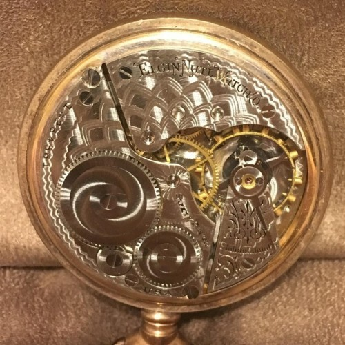 Elgin Grade 291 Pocket Watch Image