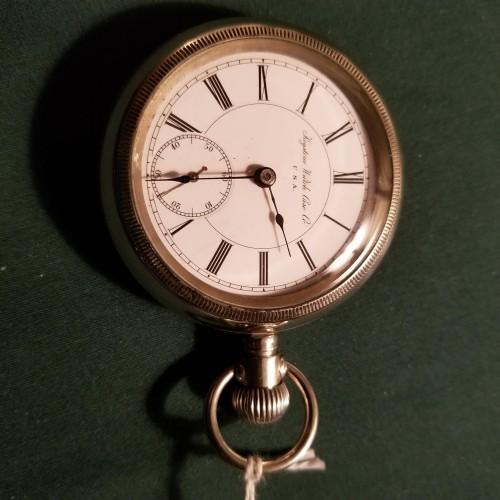 New York Standard Watch Co. Grade 34 Pocket Watch Image