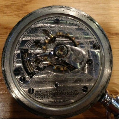 Elgin Grade 317 Pocket Watch Image