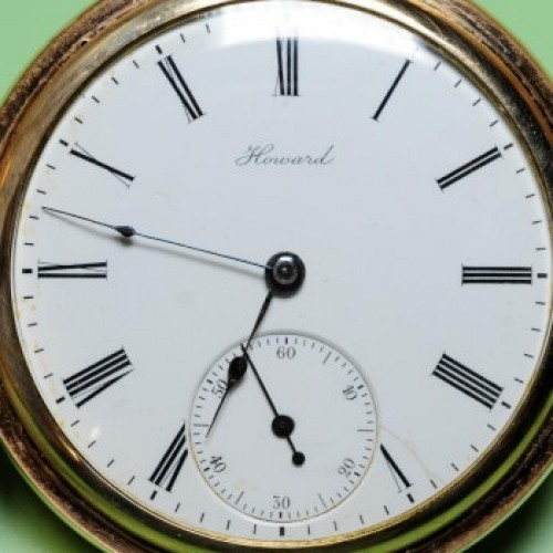 Image of E. Howard Watch Co. (Keystone) Series 3 #896474 Dial