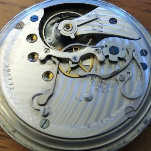 New York Standard Watch Co. Grade  Chronograph Pocket Watch Image