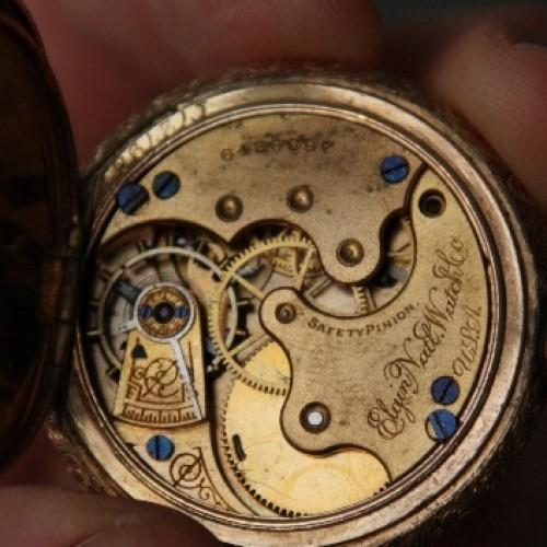 Elgin Grade 114 Pocket Watch Image