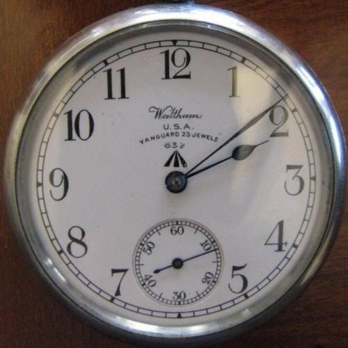Waltham Grade No. 1623 Pocket Watch