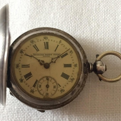 Other Grade Georges Favre Jacot Pocket Watch Image
