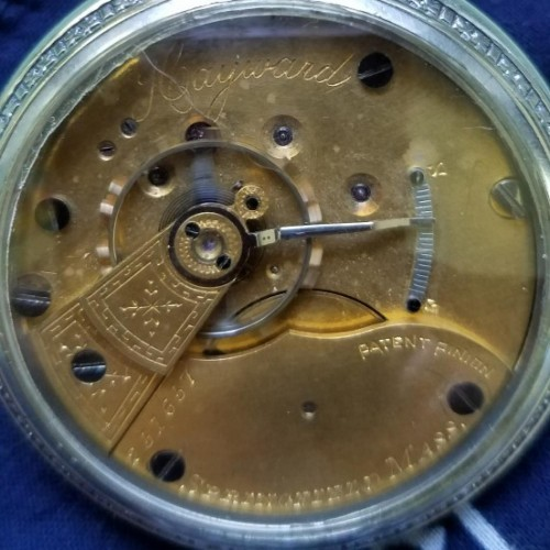 Hampden Grade Hayward Pocket Watch Image