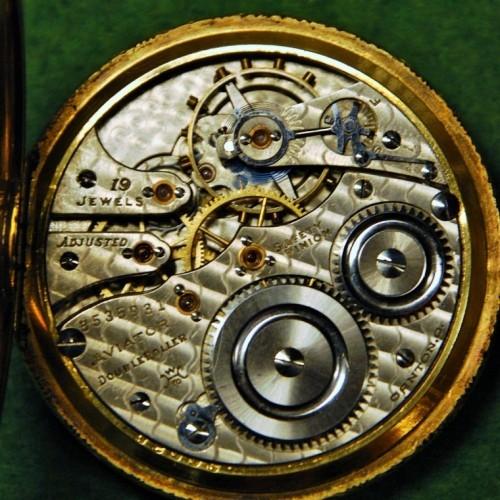Hampden Grade Aviator Pocket Watch Image