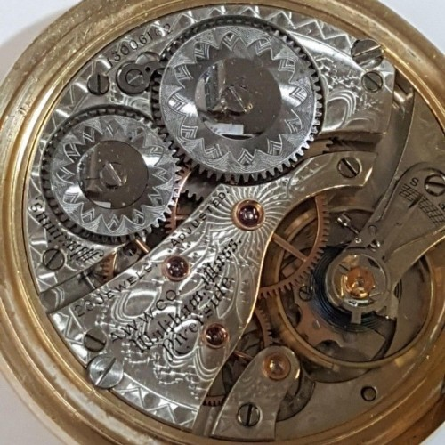 Waltham Grade Maximus Pocket Watch Image