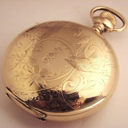 Aurora Watch Co. Grade 113 Pocket Watch Image