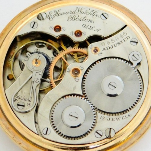 Image of E. Howard Watch Co. (Keystone) Series 3 #945946 Movement