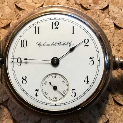 Columbus Watch Co  Pocket Watch Serial Number Lookup & Identify