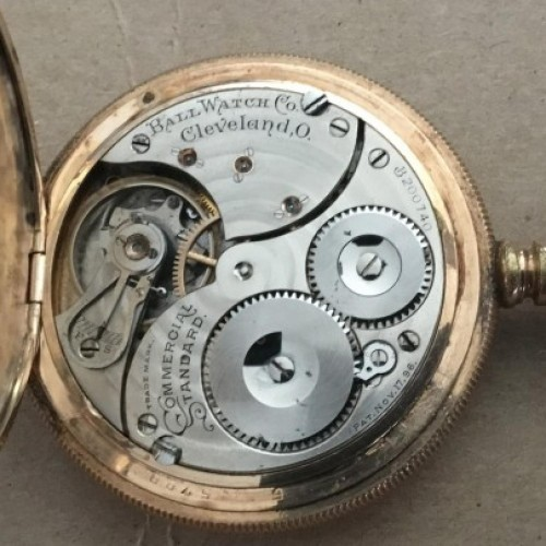 Ball - Waltham Grade Commercial Standard Pocket Watch Image