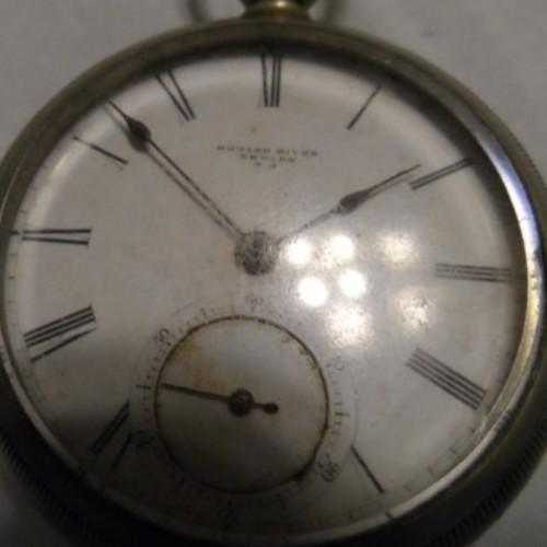Newark Watch Co. Grade Edward Biven Pocket Watch Image