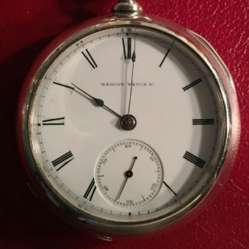 Marion Watch Co. Grade Edwin Rollo Pocket Watch Image
