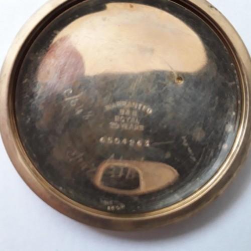 Illinois Grade 219 Pocket Watch