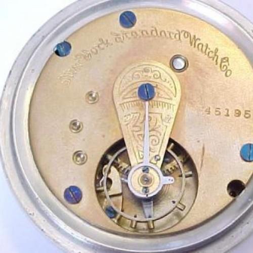 New York Standard Watch Co. Grade 31 Pocket Watch Image