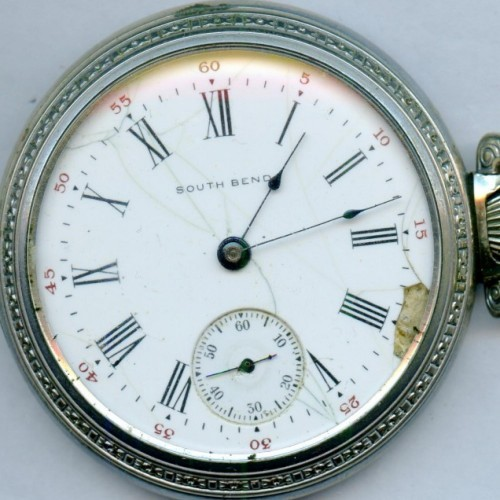 South Bend Grade 342 Pocket Watch Image