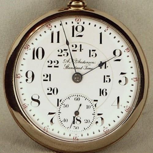 Elgin Grade 150 Pocket Watch Image