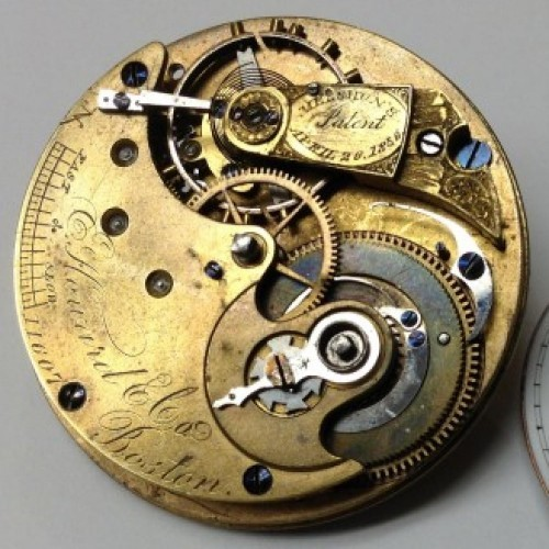 E. Howard & Co. Grade Series III Pocket Watch Image