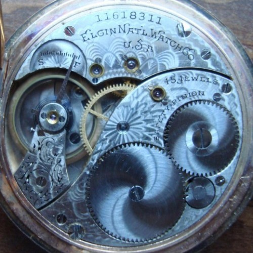 Elgin Grade 302 Pocket Watch Image