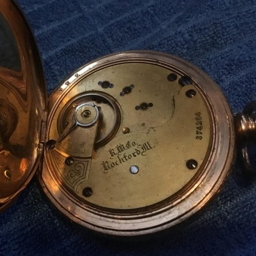 Rockford Grade 68 Pocket Watch Image