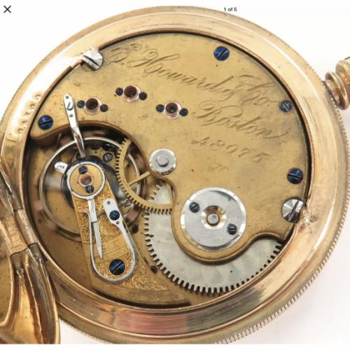 E. Howard & Co. Grade Series IV Pocket Watch