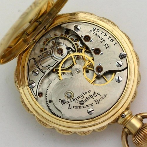 Illinois Grade 163 Pocket Watch Image