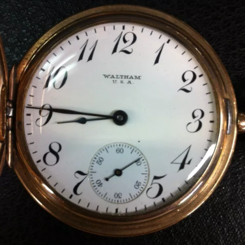 Waltham Grade No. 630 Pocket Watch
