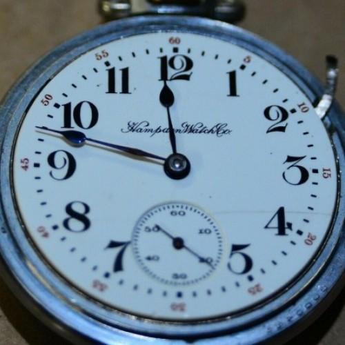 Hampden Grade No. 55 Pocket Watch Image