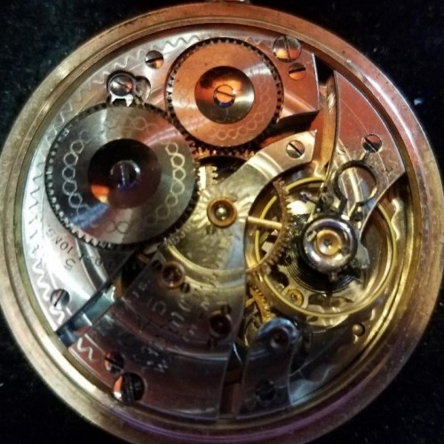 Image of Waltham No. 645 #19097161 Movement