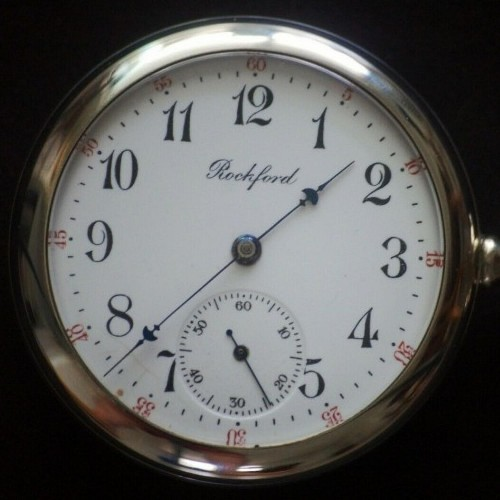 Rockford Grade 570 Pocket Watch Image