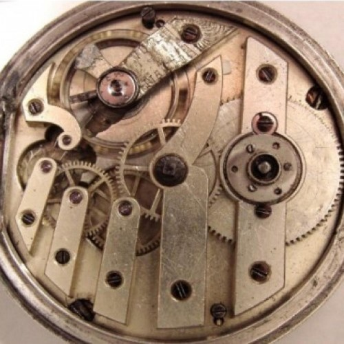 Other Grade Eppner & Co Silberberg Pocket Watch Image