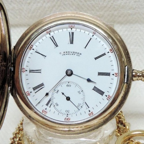 Illinois Grade 219 Pocket Watch Image