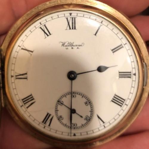 Waltham Grade No. 610 Pocket Watch
