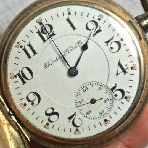 Hampden Grade No. 98 Pocket Watch Image