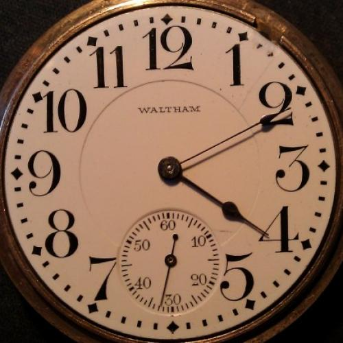 Image of Waltham No. 645 #17179288 Dial