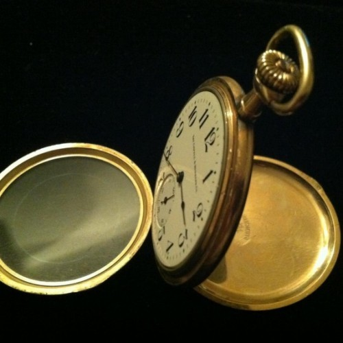 Illinois Grade 401 Pocket Watch Image