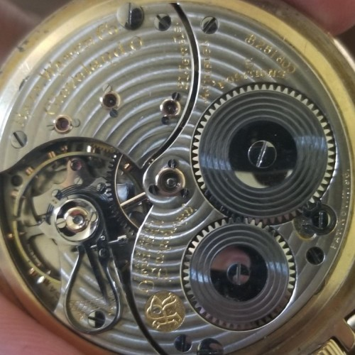 Image of Ball - Waltham Official Standard #B251800 Movement