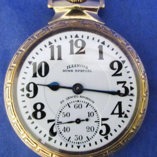 Image of Illinois 163 Bunn Special #5448374 Dial