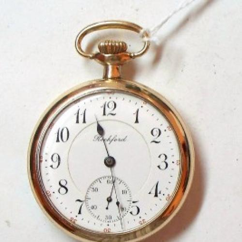 Rockford Grade 545 Pocket Watch Image