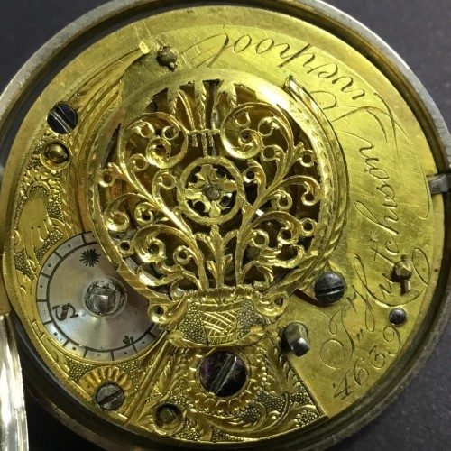 Other Grade Verge - J. Hutchison Pocket Watch Image