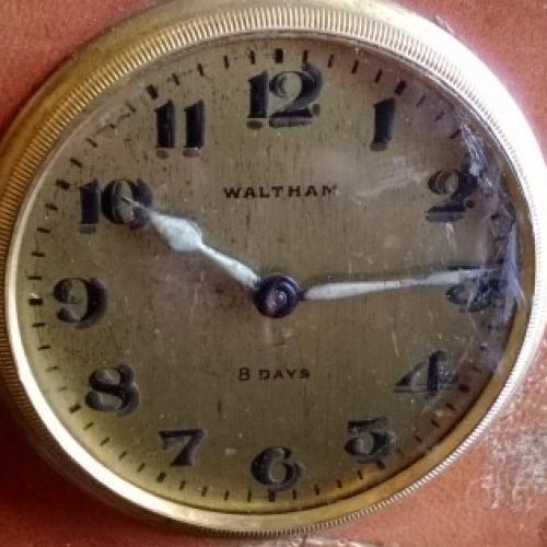 Waltham Grade 8 Day Pocket Watch Image