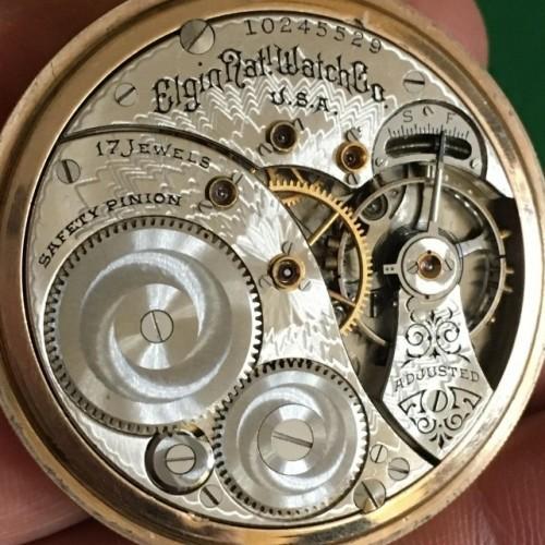 Elgin Grade  Pocket Watch Image